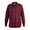 Afbeelding van D555 BENALLA KS overhemd rood / zwart