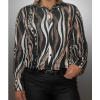 Afbeelding van Iz Naiz BLOUSE mix Animal