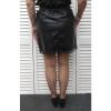 Afbeelding van New Collection ROKJE zwart leatherlook