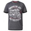 Afbeelding van D555 ROMAN KS shirt melee grey