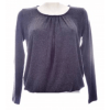 Afbeelding van Moglie TOP stretch l.m. dark grey