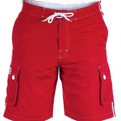 Foto van D555 VASCO KS short Red