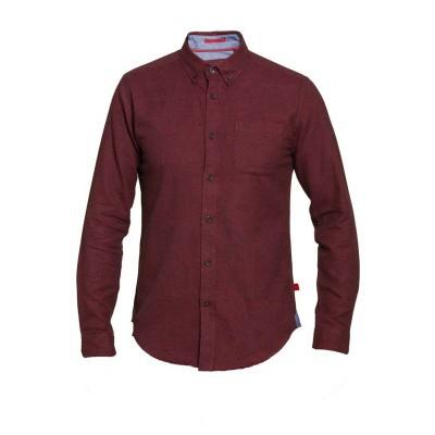 D555 DAWSON KS overhemd bordeaux