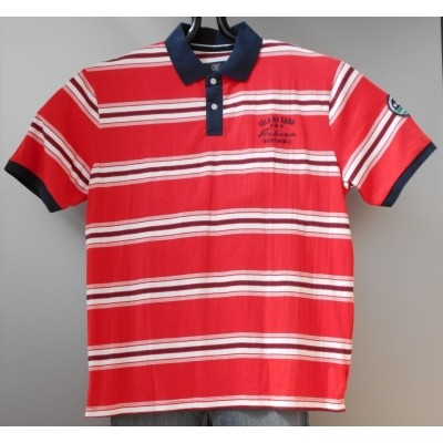 Foto van G. SANTI casual POLO KS 2knp red