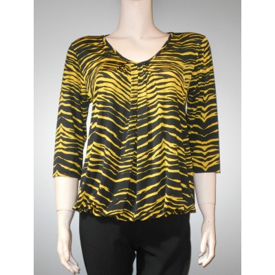 Iz Naiz SHIRT zebra yellow