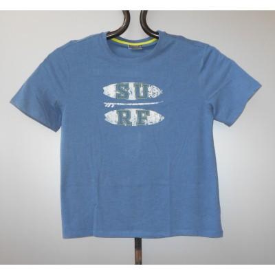 Su T-SHIRT KS print Blue