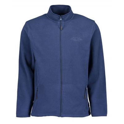 Blue Seven fleece VEST uni blauw