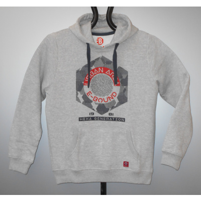 Foto van Ebound hoody SWEATER melee grey