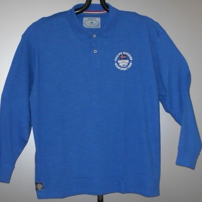 Redfield POLO KS lange mouwen Cobalt blue