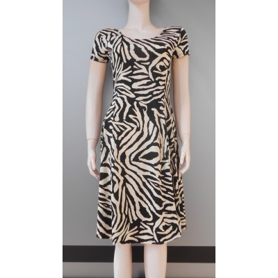 Iz Naiz FLAIR DRESS zebra sand
