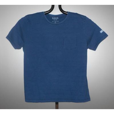 S.O.H.O. T-SHIRT KS denim blue