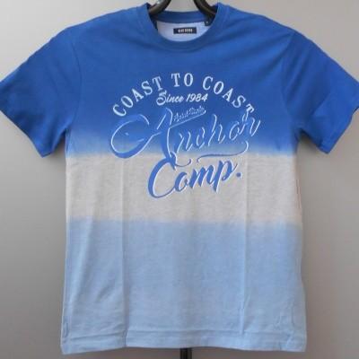 Blue Seven 302577 shirt met print Blue