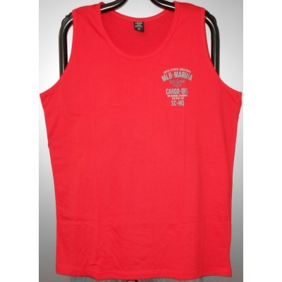 Foto van Fisher and Bennet MARINA KS Singlet / hemd Red