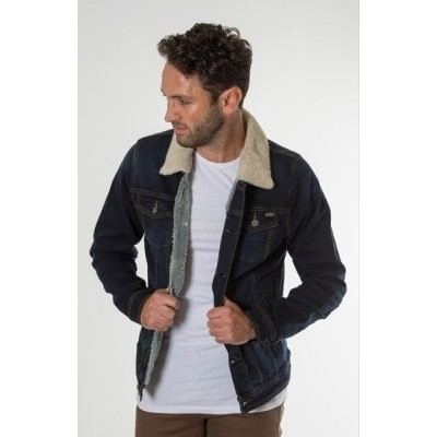 Foto van New Star NIMES stretch denim jacket Dark stw