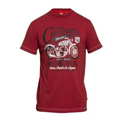 Foto van D555 MEMPHIS KS t-shirt print