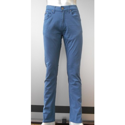 Brams Paris HUGO stretch cotton twill Teel