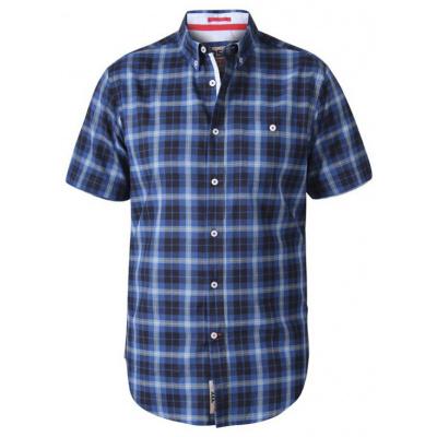 D555 WATSON KS overhemd ruit