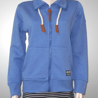 Foto van River Stone VEST sweat Blue