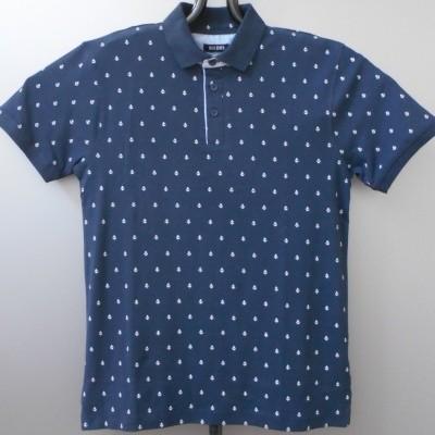 Foto van Blue Seven 321038 polo shirt print Navy