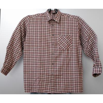 Foto van JMP wear FLANEL Overhemd bruin/rood