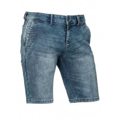 Foto van Brams Paris FERON stretch denim chino short