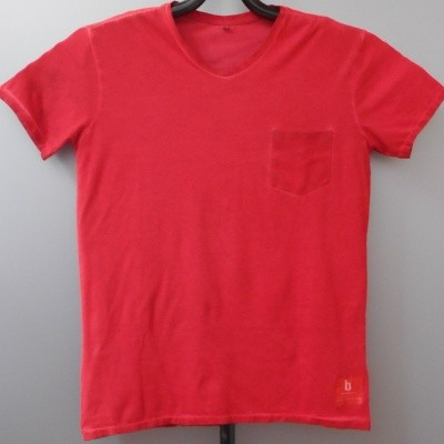 Brams Paris FELIP t-shirt V-hals Red