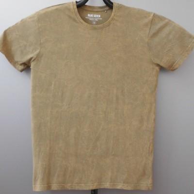Foto van Blue Seven 302595 t-shirt gewassen Geelgroen