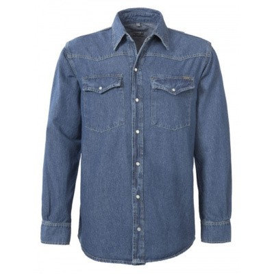 Foto van Brams Paris BRAD denim blouse