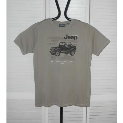 Foto van Jeep WOLVERTON KS T-shirt taupe