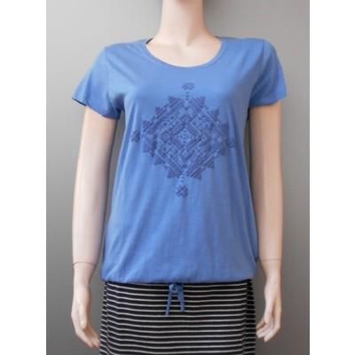 Foto van Blue Seven 105354 shirt stretch Light Blue