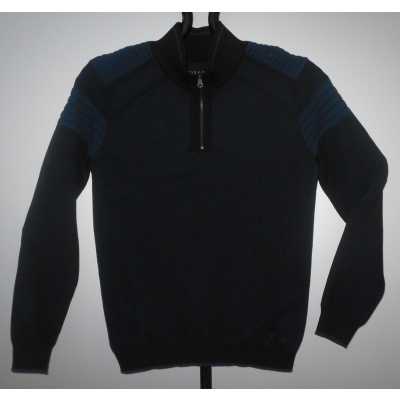 Gibson TRUI / SWEAT zwart / navy