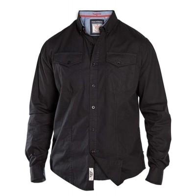 Foto van D555 LIONEL KS Overhemd black