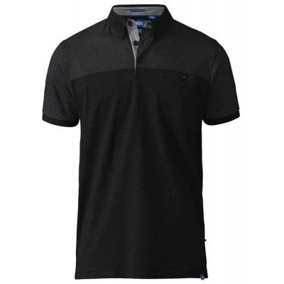 Foto van D555 JAURAM KS polo Black
