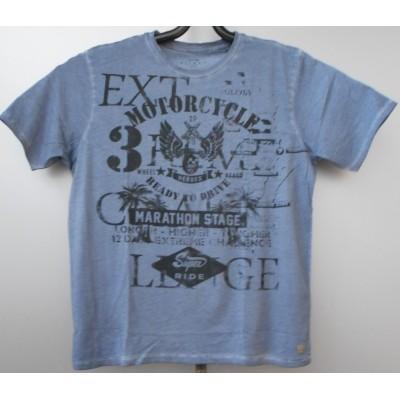 Kitaro SHIRT 181185 KS print Blue