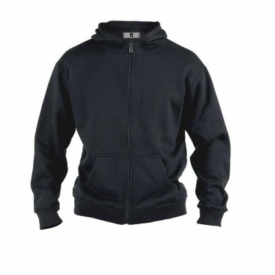 Rockford CANTOR KS sweatvest hooded black