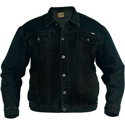 DUKE jeans TRUCKER KS spijkerjack black