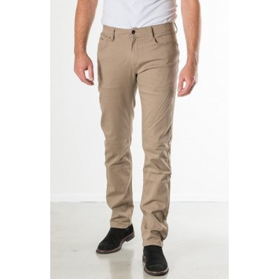 Foto van New Star JV-Slim twill stretch Dark sand