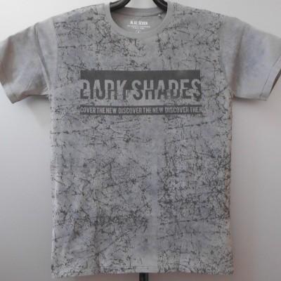 Blue Seven 302596 t-shirt gewassen Grey met print