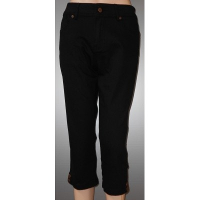 New Star WYOMING stretch Capri zwart