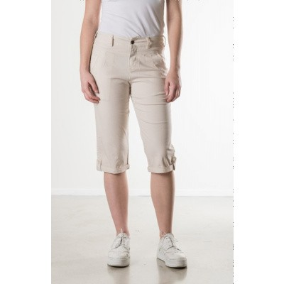 Foto van New Star SANTA CAPRI stretch poplin Light grey