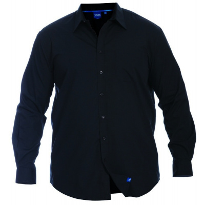 Foto van D555 CORBIN KS overhemd l.m. Black