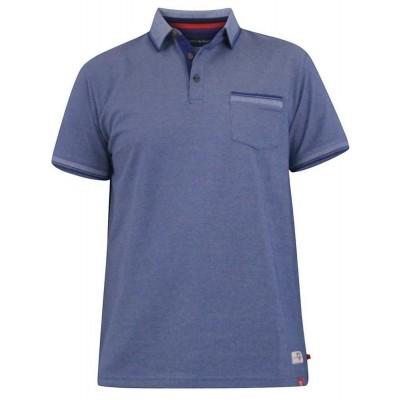 D555 COREY KS polo melee Blue