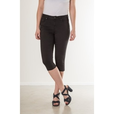 Foto van New Star ORLANDO dames capri twill stretch black