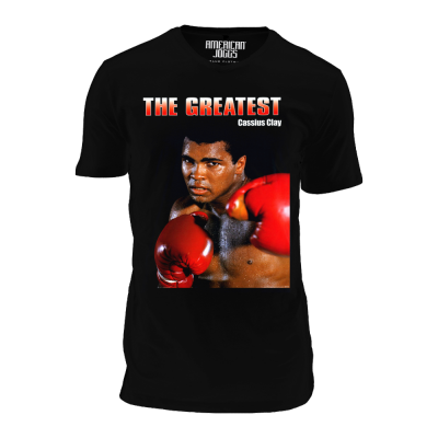 Foto van American Joggs T-SHIRT print:THE GREATEST