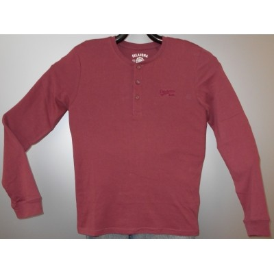 Foto van Oklahoma HENLEY men Shirt bordeaux