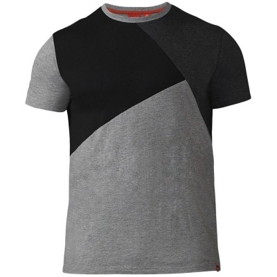 D555 AUTHENTIC KS shirt panelen Grey