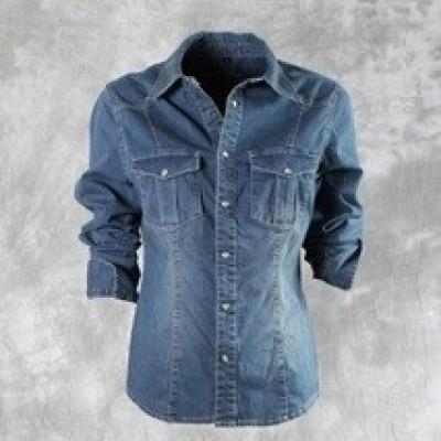 New Star VIRGINIA stretch denim blouse