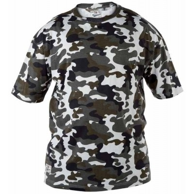 Foto van Duke London RARDEN KS T-shirt camouflage print Storm