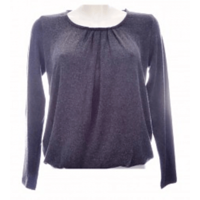Foto van Moglie TOP stretch l.m. dark grey