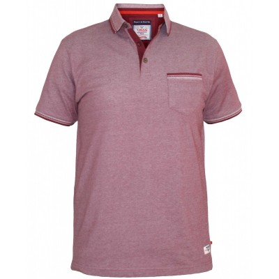D555 COREY KS polo melee Burgundy